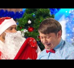 Мальчик Витя и Дед Мороз  - Страна Гирляндия 2019