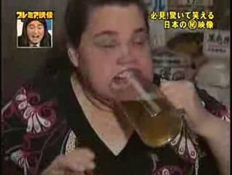 Женщина с самым большим ртом