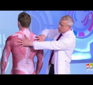 Лечим боль за одну минуту: упражнение против болей в спине. Жить здорово!  26.04.2021