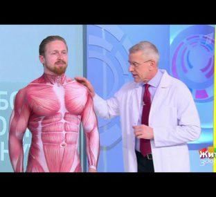 Лечим боль за одну минуту: упражнение от боли в плече. Жить здорово! 02.03.2021