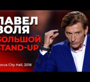 Павел Воля - О врачебном заговоре, дополнительных ребрах и мыслях перед сном / Большой Stand Up 2018