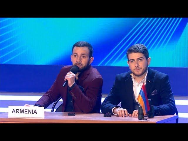 КВН Армянская сборная - 2019 Премьер лига Третья 1/8 Приветствие